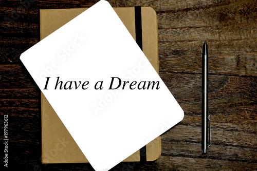 Fotografía  私には夢がある