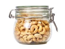 Cashews In A Jar