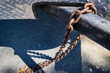 Chain Hanging On Hitch
