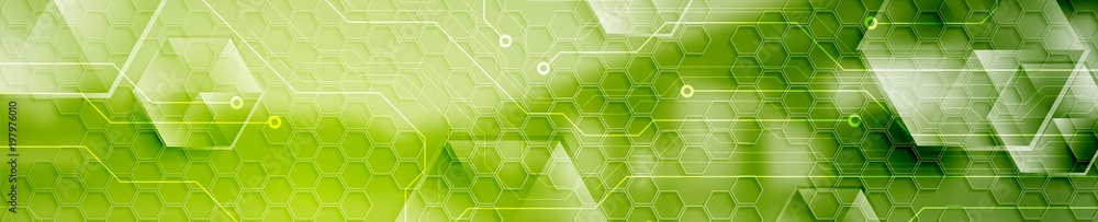 Fototapeta Abstract technology modern industrial web header banner
