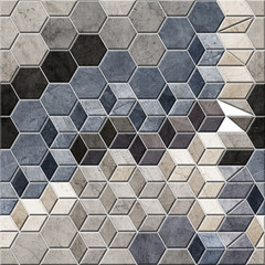 Fototapeta Wzory geometryczne background for wall tiles, texture