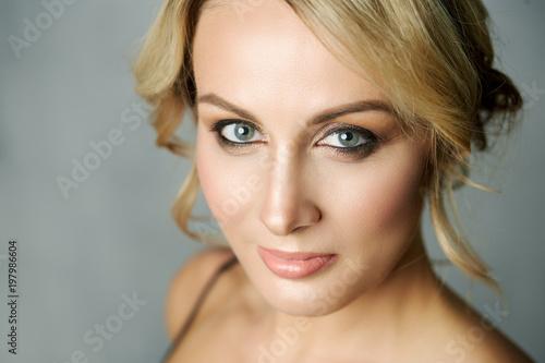 Photo  Close up portrait of a beaut