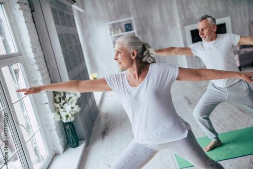 Fotografía  Senior couple at home