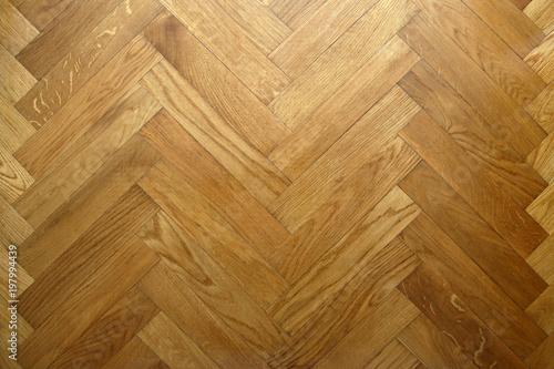 Fototapeta Floor with natural oak trees as a natural texture background  obraz na płótnie
