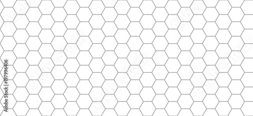hexagon pattern Canvas Print