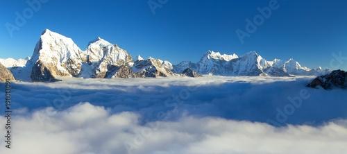 Fotografering  Nepal Himalayas mountains