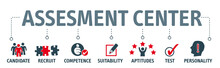 Banner Assessment Center Concept English Keywords