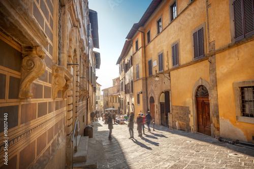 Street in Arezzo, Italy Canvas Print
