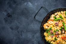Traditional Spanish Paella Wit...