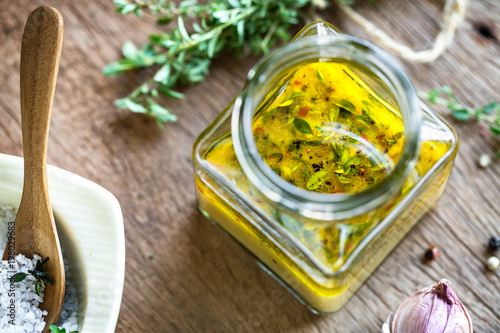 Lemon Vinaigrette with Thyme