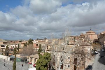 Fototapeta na wymiar Toledo Şehrinden Bir Kesit