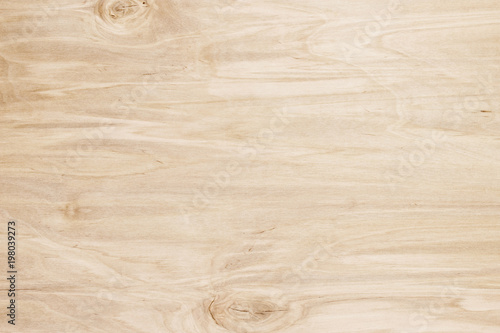 fototapeta na lodówkę Light texture of wooden boards, background of natural wood surface