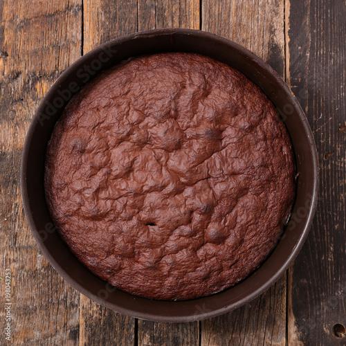 Photo  chocolate pie