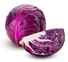 Red Cabbage One Slice