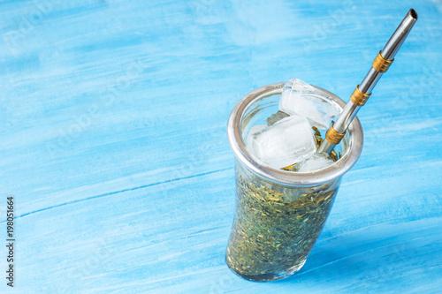 Fotografija  terere. frozen yerba mate drink