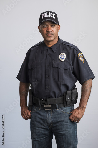 Portret policjanta