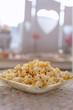Frisch gemachtes Popcorn