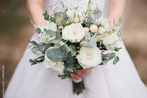 Slika na platnu Bridal morning details