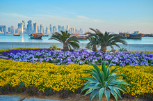 The Flowers On Corniche Embank...