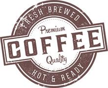Fresh Coffee Vintage Diner Sign