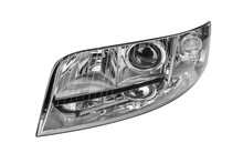 Car Headlight Isolated On Whit...