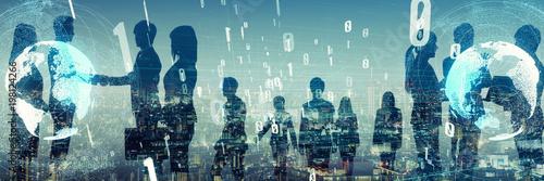 グローバルビジネス - fototapety na wymiar