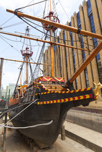 Golden Hind, Replica Of A 16th...
