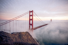 The Golden Gate Bridge In San ...