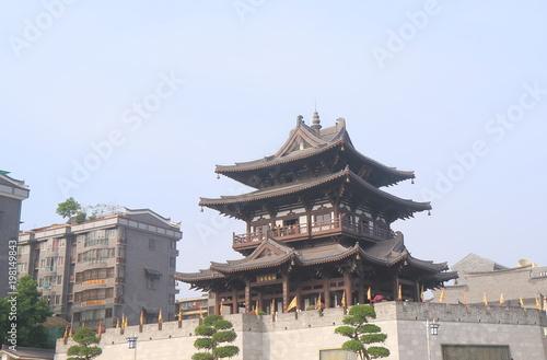 Fotobehang Guilin Traditional temple in Guilin China