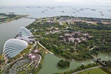Singapur, Gardens By The Bay, ...