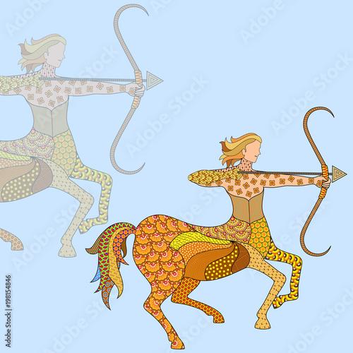 Photo Sagittarius Astrological Zodiac Sign