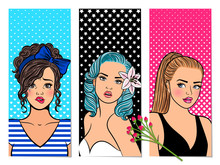 Retro Girls Banners