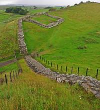 The Ruin Of A Roman Milecastle...