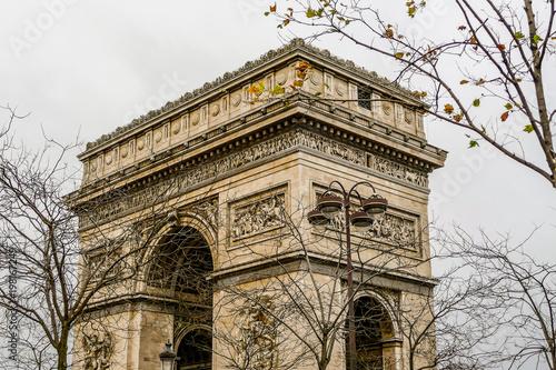 Keuken foto achterwand Parijs Photo image a Beautiful panoramic view of Paris Metropolitan City