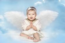 Angel Baby With Amur Wings, Ki...
