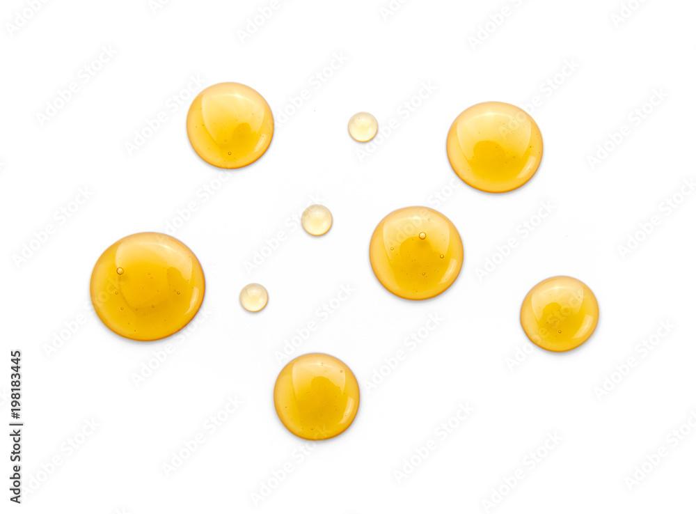 Fototapety, obrazy: Sweet honey isolated on white background.