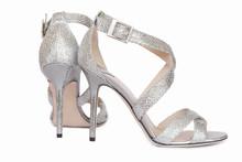 Bridal High Heels, Sandals. Luxury Brand. Wedding Sparkling Shoes