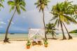 Exotic beach after rain at Ko Phi Phi Lee island, Krabi Province, Andaman Sea, Thailand