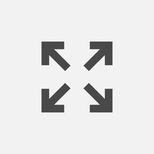 Resizing Vector Icon For Zoom ...