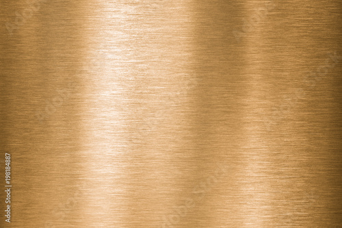 Photo sur Toile Les Textures Gold, bronze or copper metal brushed texture