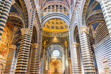 Interior Of Siena Cathedral (d...