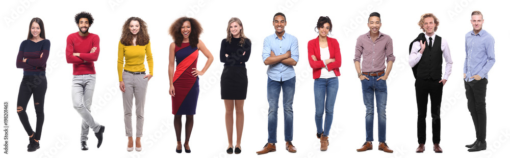 Fototapety, obrazy: Group of people