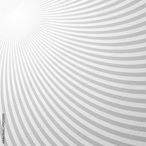 Foto op Aluminium Abstract wave Abstract psychedelic spiral pattern background - vector design