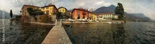 Spoed Foto op Canvas Grijze traf. Mandello del Lario ( lago di Como)