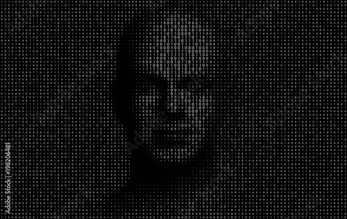 Artificial Intelligence Vector Design Illustration Canvas Print