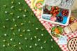 canvas print picture - Summertime picnic