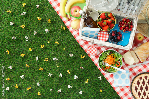 Photo Stands Picnic Summertime picnic