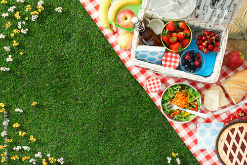 In de dag Picknick Summertime picnic