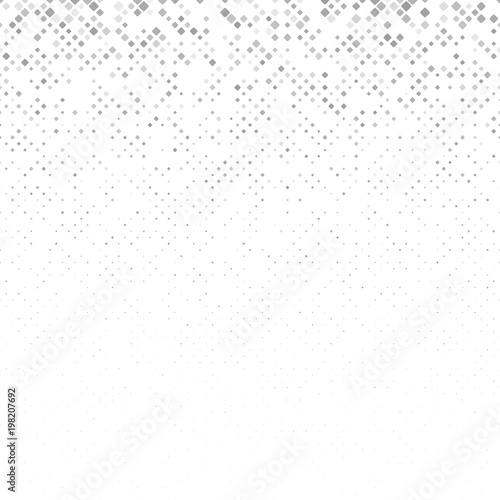Fotografía  Abstract rounded square pattern background - vector design from squares in varyi