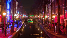Amsterdam Red District Prostit...